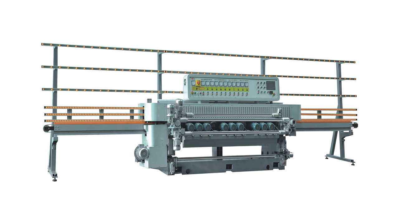 GLASS STRAIGHT LINE BEVELLING MACHINE (OLD)