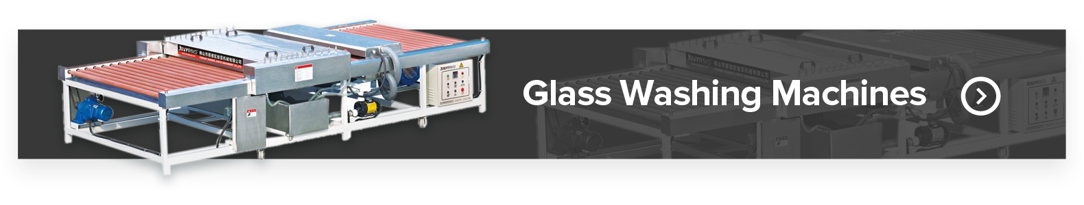 GlassMac Glass Washing Machines
